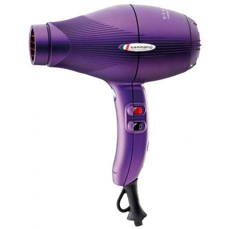 Лёгкий профессиональный фен Gamma Piu ETC Light Matt Violet (матовый фиолетовый)